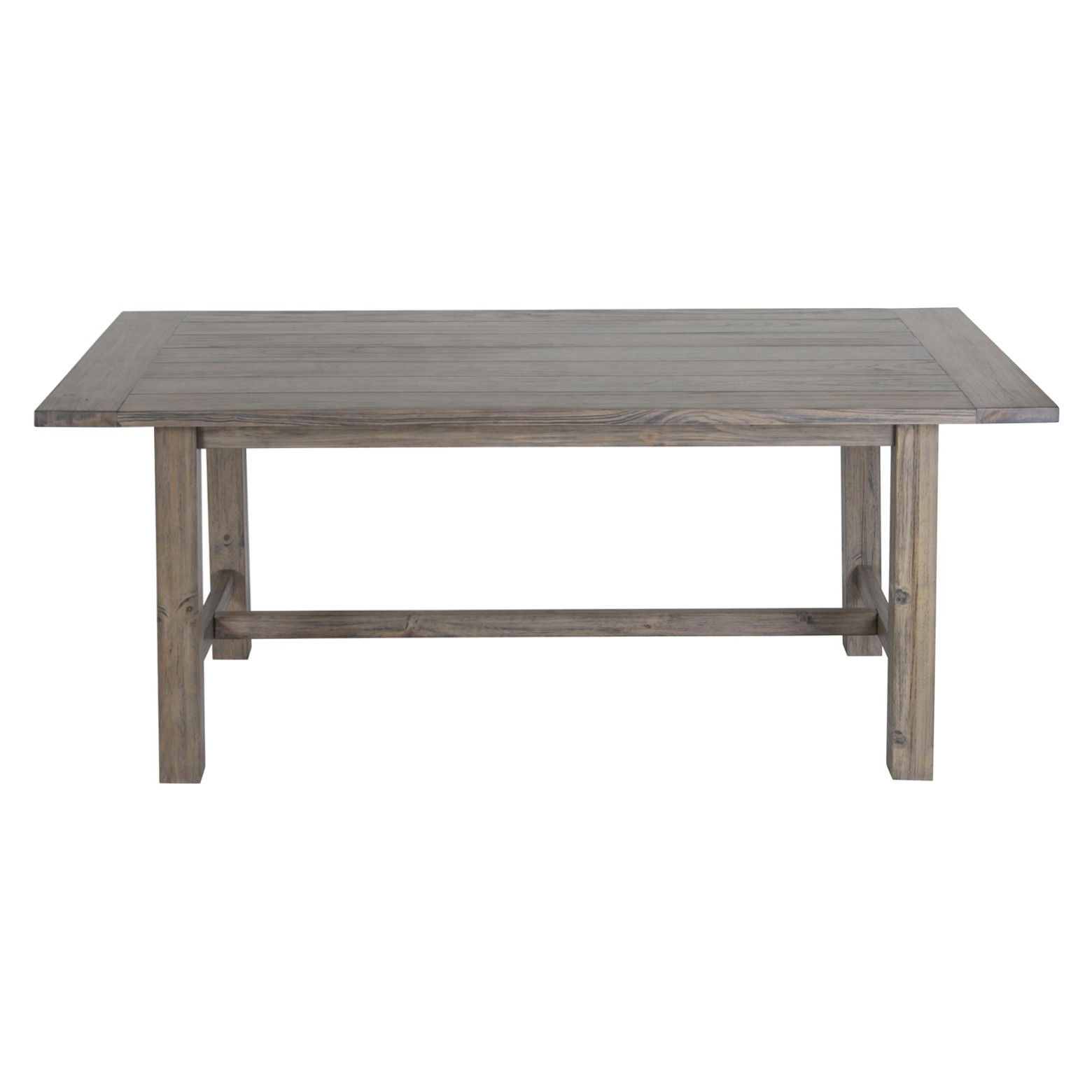 Recent Distressed Grey Finish Wood Classic Design Dining Tables Regarding • Classic Farmhouse Inspired Design<br>• Pine (View 11 of 30)