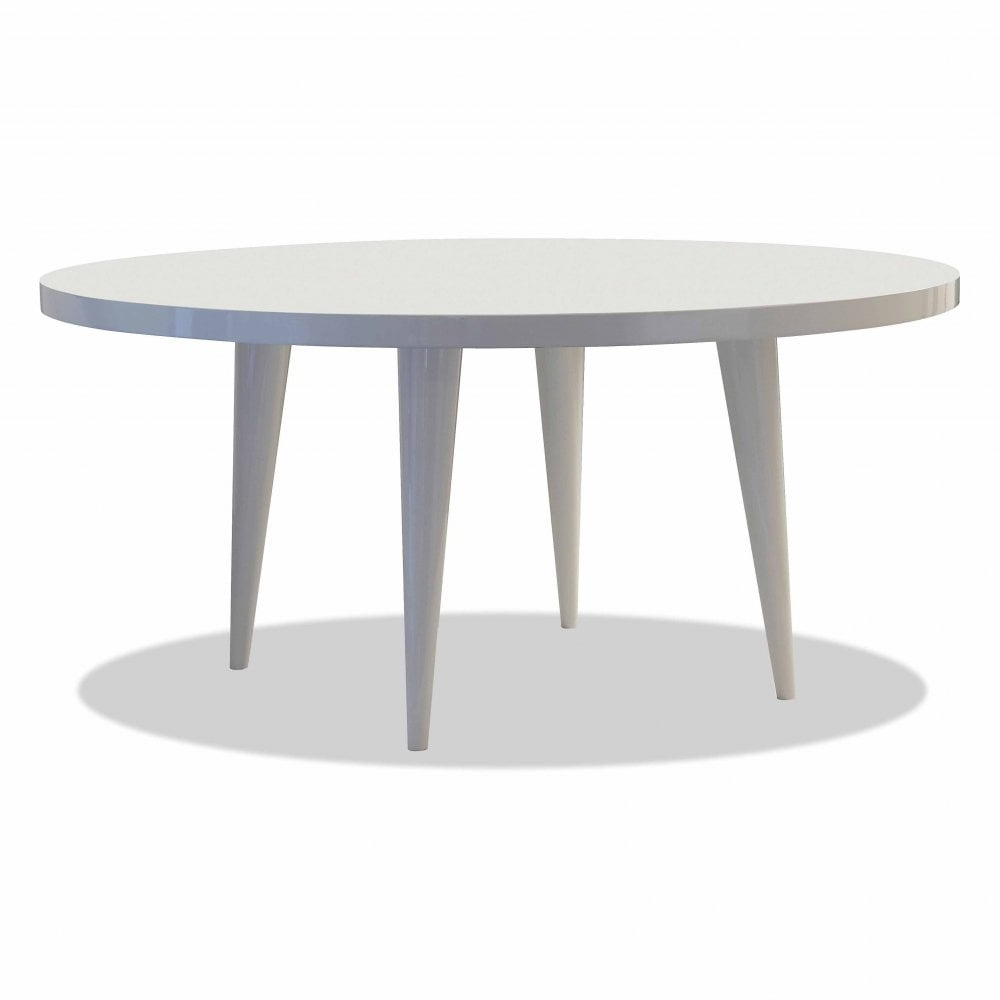 Recent Elle Round Lacquer Dining Tabledom Edizioni (View 12 of 30)