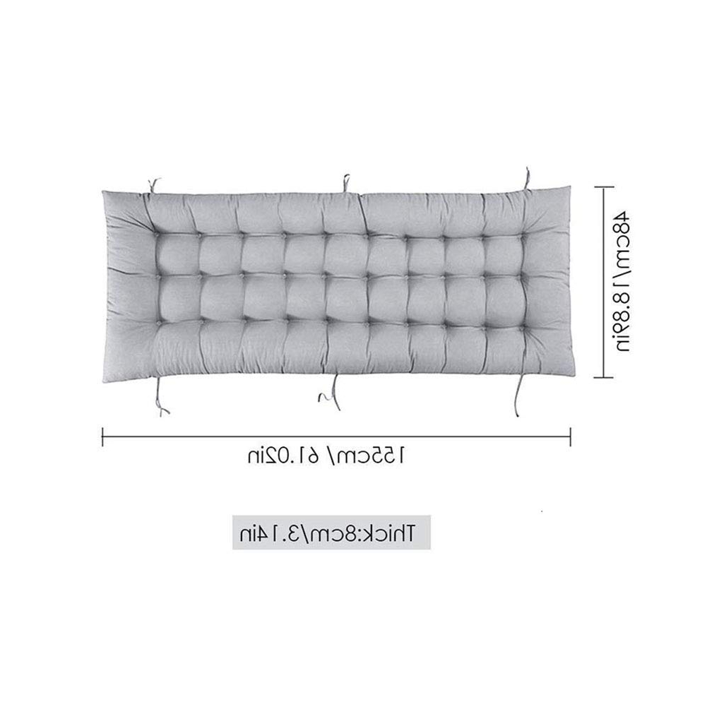 Recent Indoor/outdoor Chaise Lounger Cushions Rocking Chair Sofa Intended For Rocking Benches With Cushions (View 16 of 30)