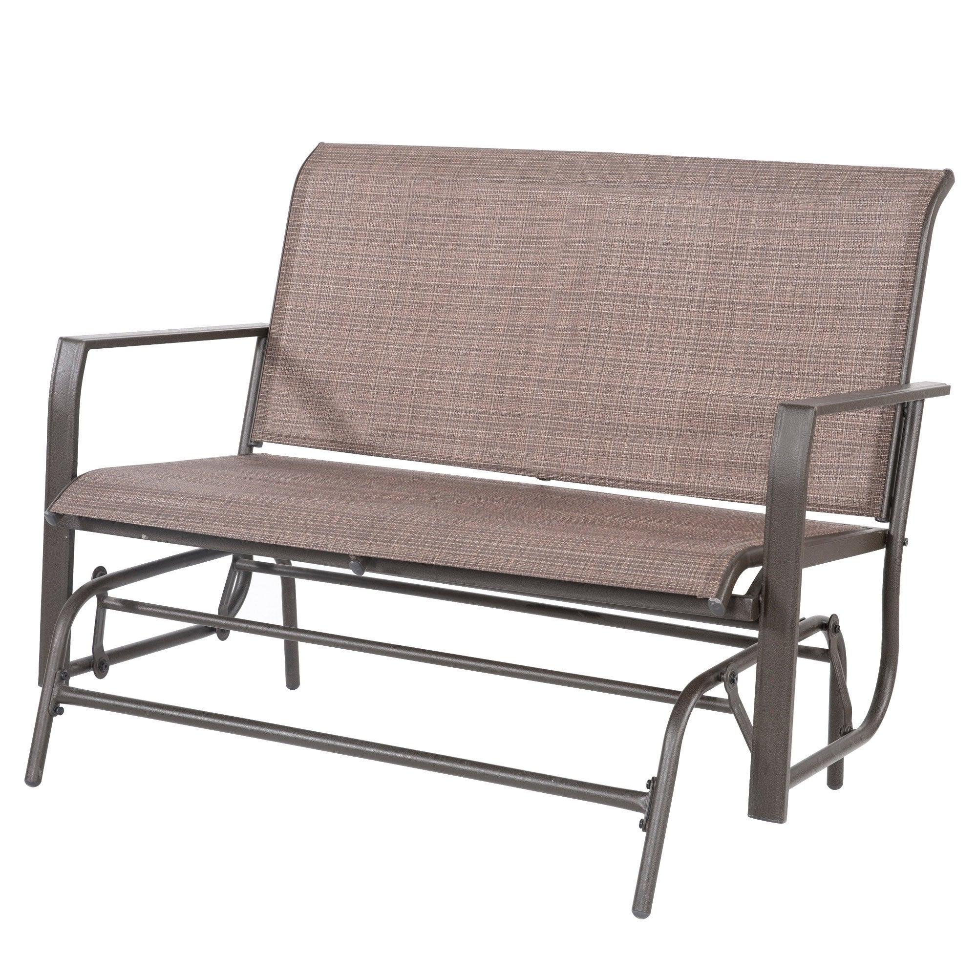 Recent Loveseat Glider Benches With Regard To Lewis 2 Person Outdoor Loveseat Patio Glider (View 20 of 30)