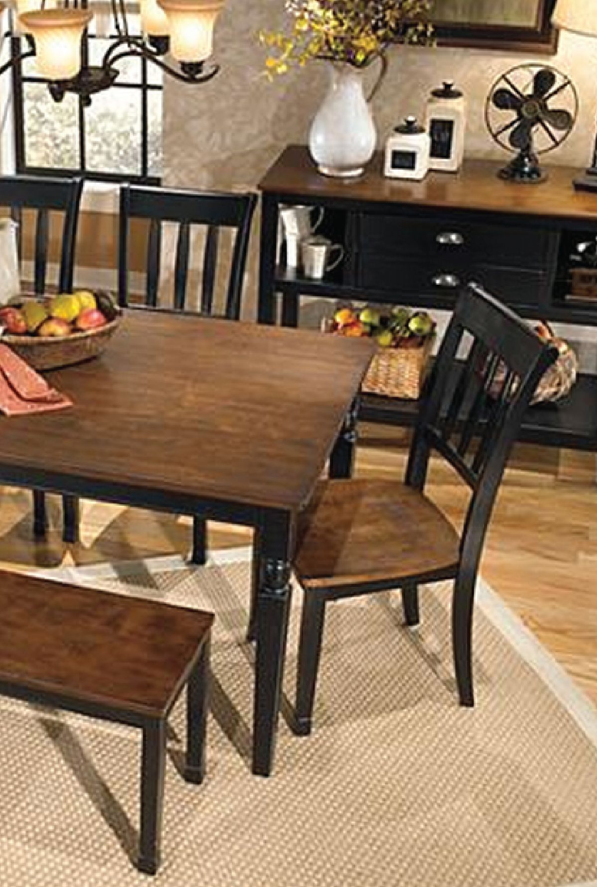 Recent This Farmhouse Style Table Is An Elegant And Beautiful Pertaining To Distressed Walnut And Black Finish Wood Modern Country Dining Tables (View 27 of 30)