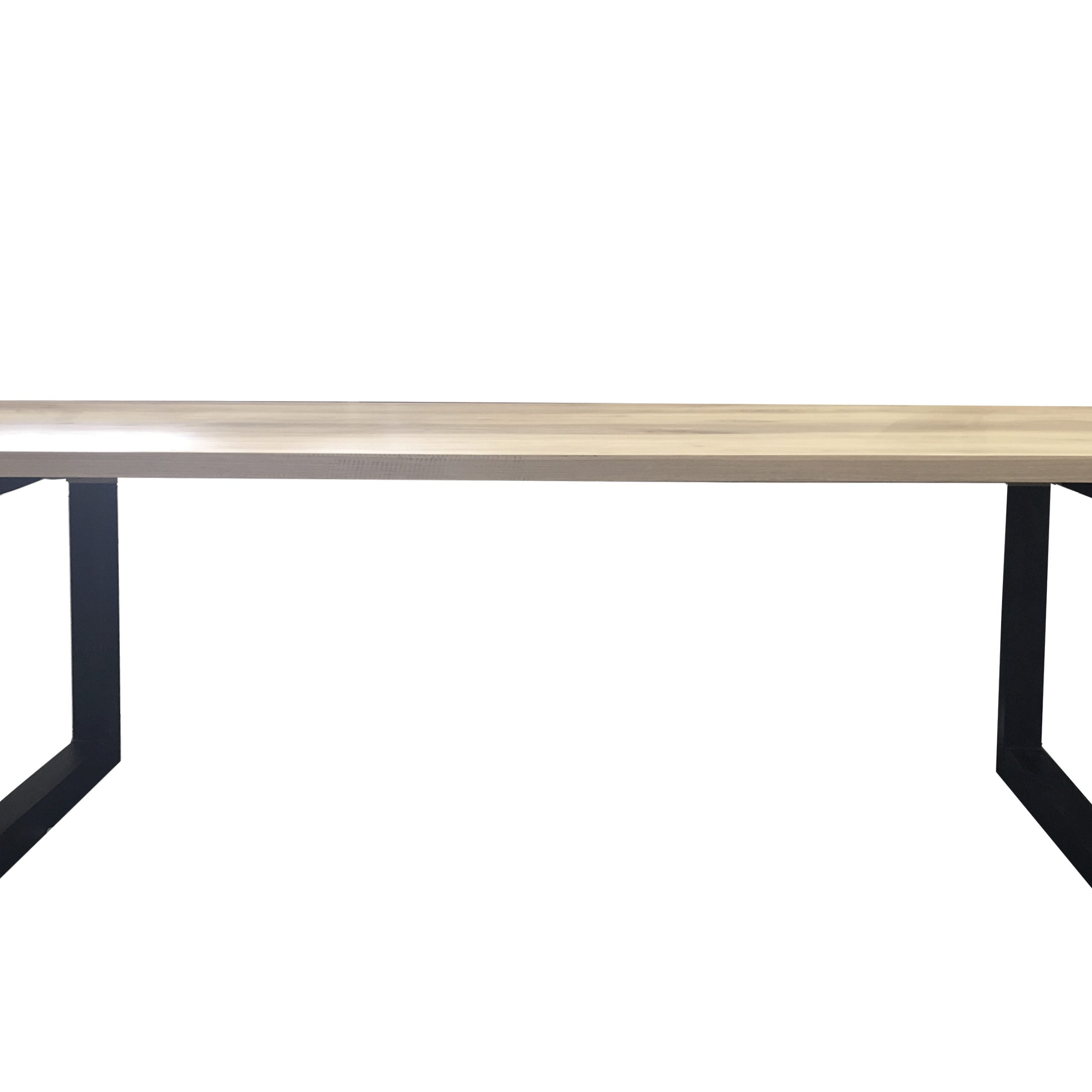 Rectangular Dining Tables For Most Recently Released Terence Rectangle Dining Table Black Legs (View 11 of 30)