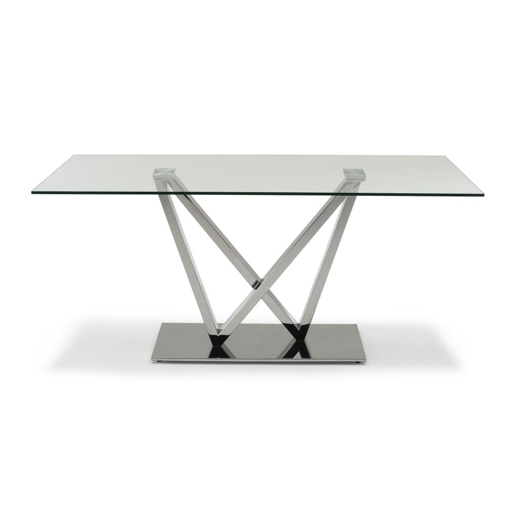 Rectangular Dining Tables With Most Current Westwind Glass Rectangular Dining Table – Seats  (View 19 of 30)