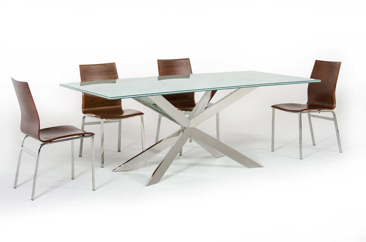 Rectangular Glasstop Dining Tables In Fashionable Dining Table: The Top 6 Selection Tips – La Furniture Blog (View 17 of 30)
