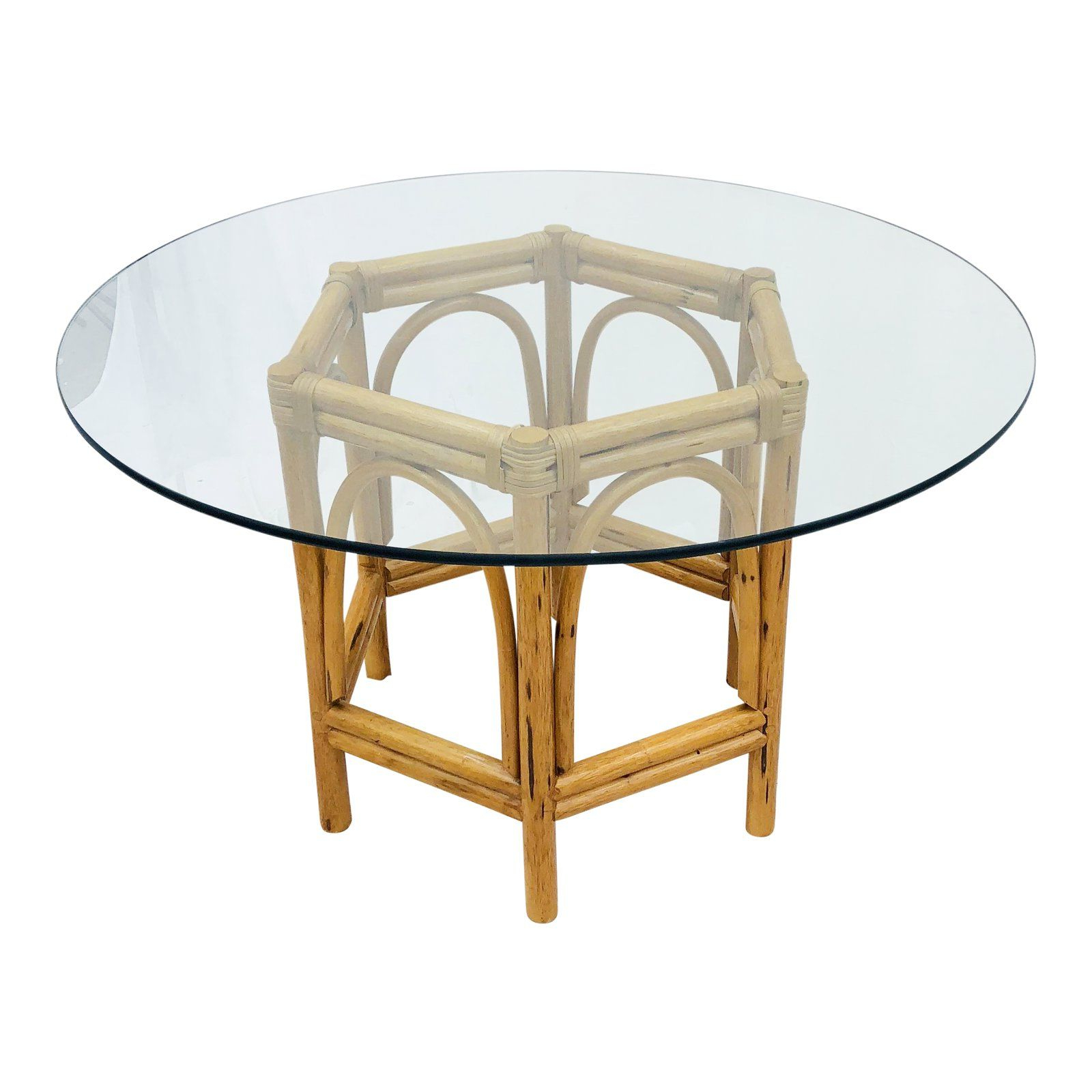 Featured Photo of Retro Round Glasstop Dining Tables