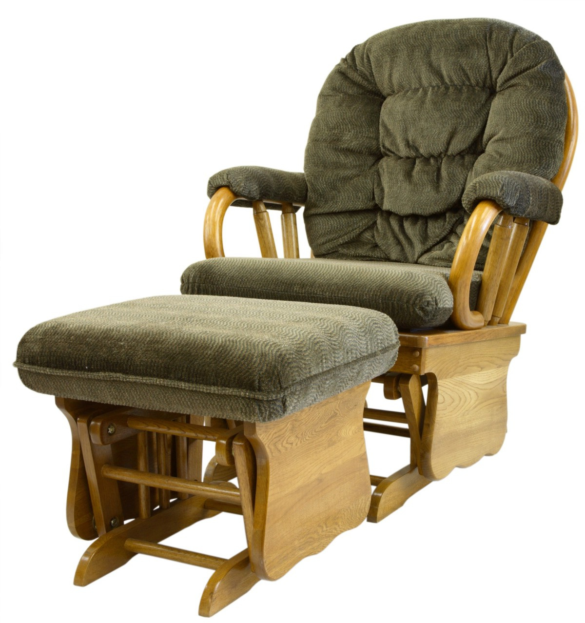 Rocking Glider Benches With Cushions For Well Liked Finding Glider Chair Replacement Cushions (View 20 of 30)