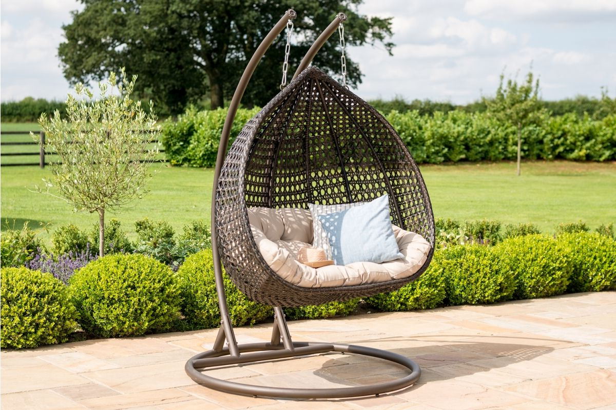 Rose Hanging Chair – Maze Rattan With Regard To Trendy Rattan Garden Swing Chairs (View 14 of 31)