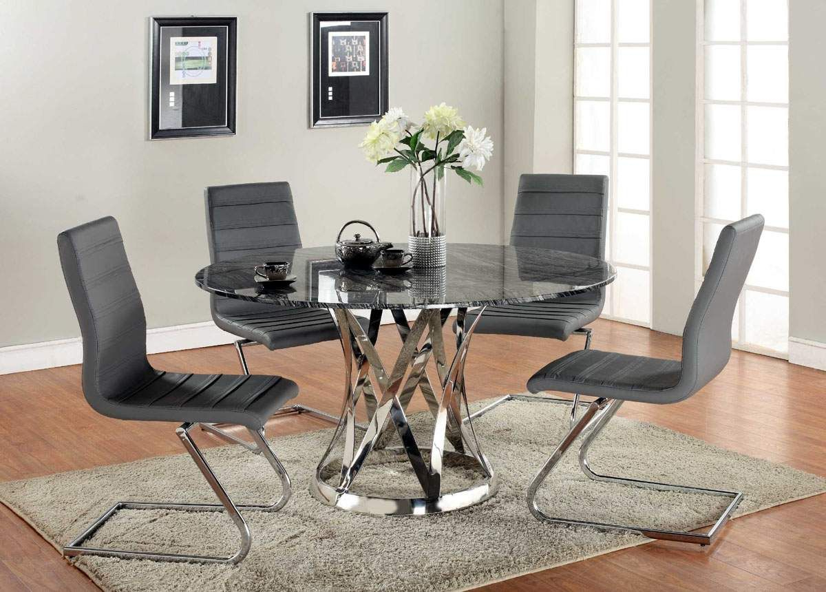 Royals Courage : Black Within Elegance Small Round Dining Tables (View 10 of 30)