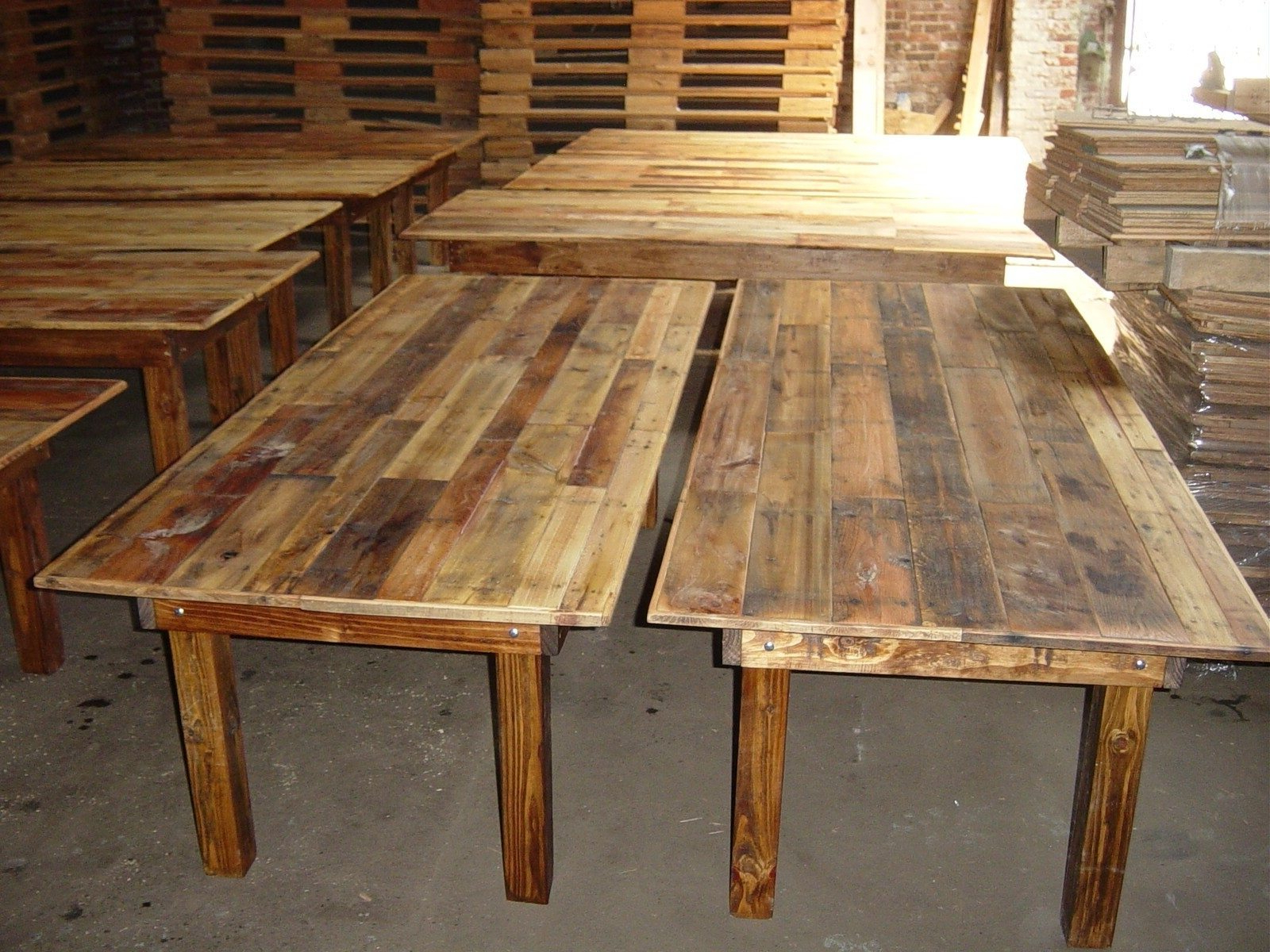 Rustic Pine Small Dining Tables Inside Widely Used Simple Rustic Kitchen Tables : Gearon Hoffman Home – Ideas (View 5 of 30)
