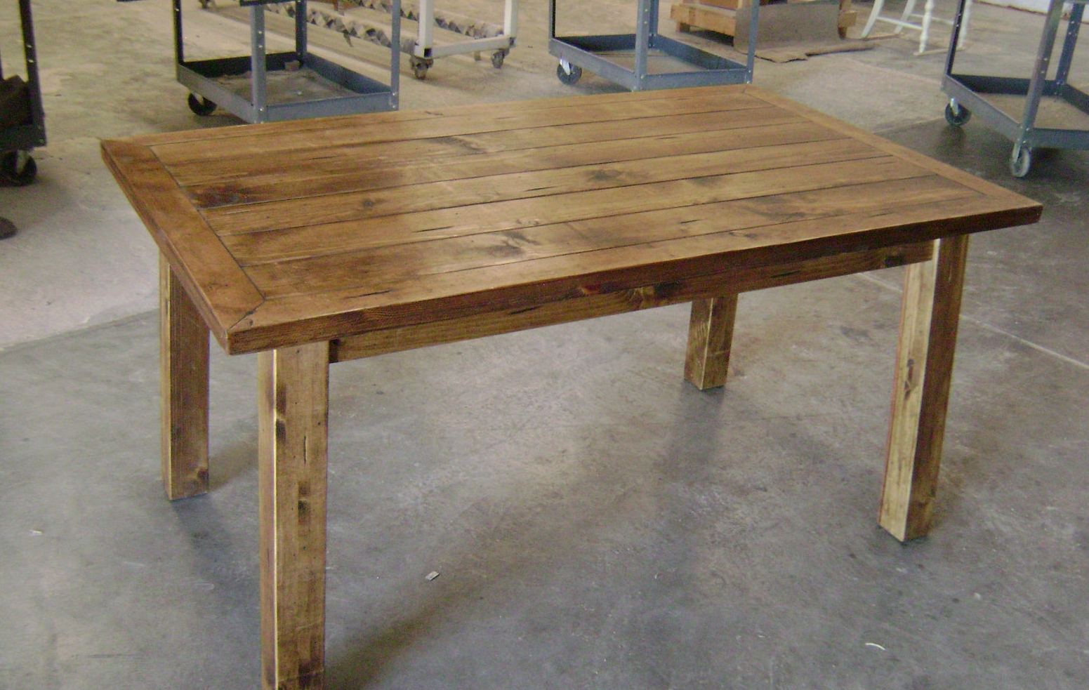 Featured Photo of Rustic Pine Small Dining Tables