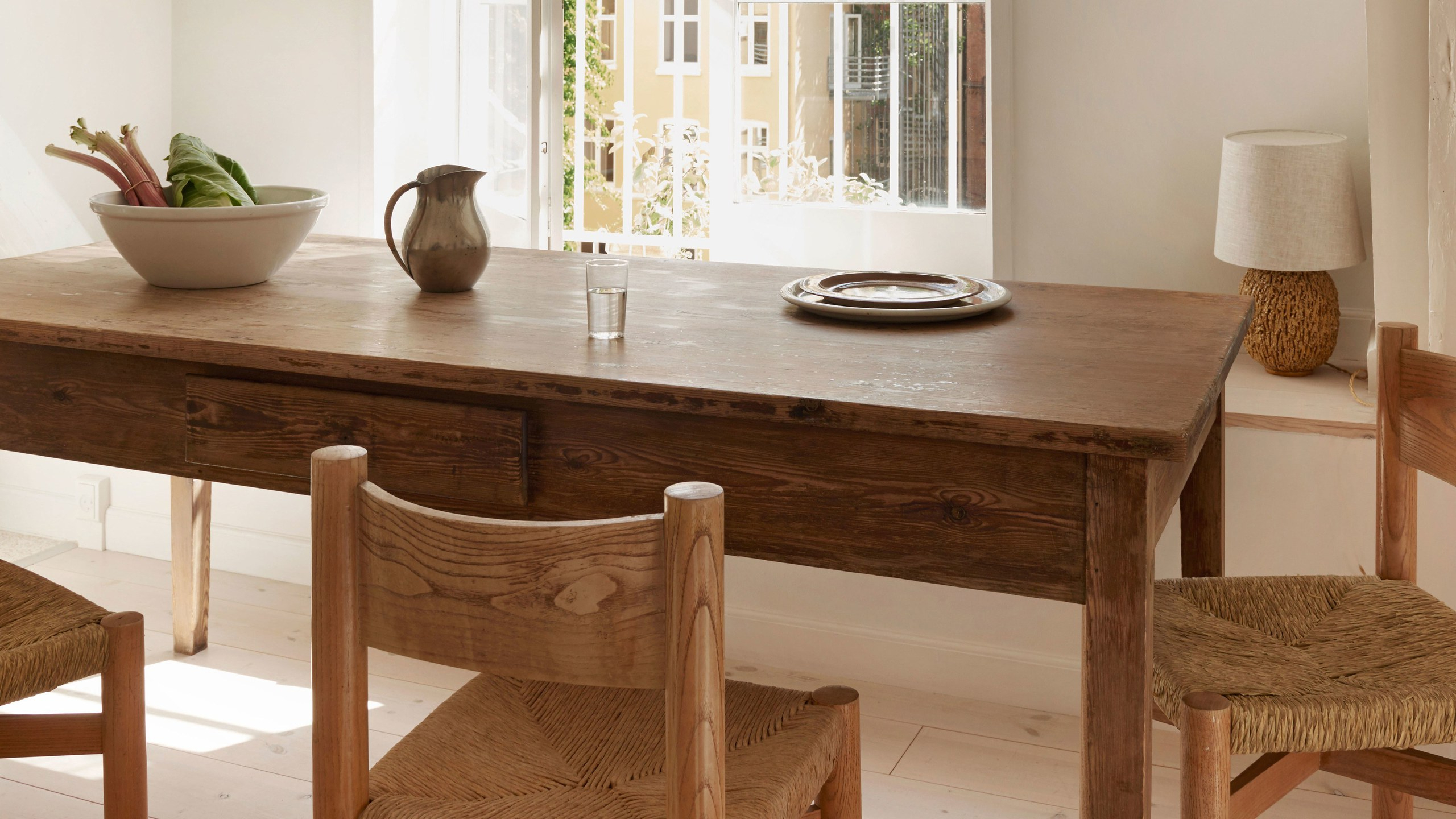 Small Dining Tables With Rustic Pine Ash Brown Finish With Fashionable How To Refinish A Table (it's Actually Extremely Easy (View 10 of 30)
