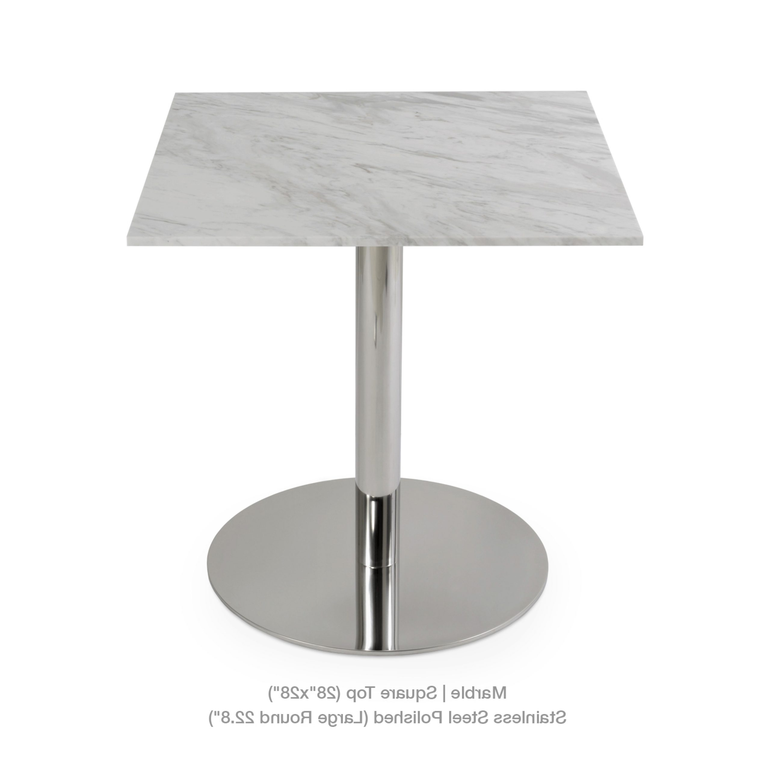 Sohoconcept For Long Dining Tables With Polished Black Stainless Steel Base (View 14 of 30)