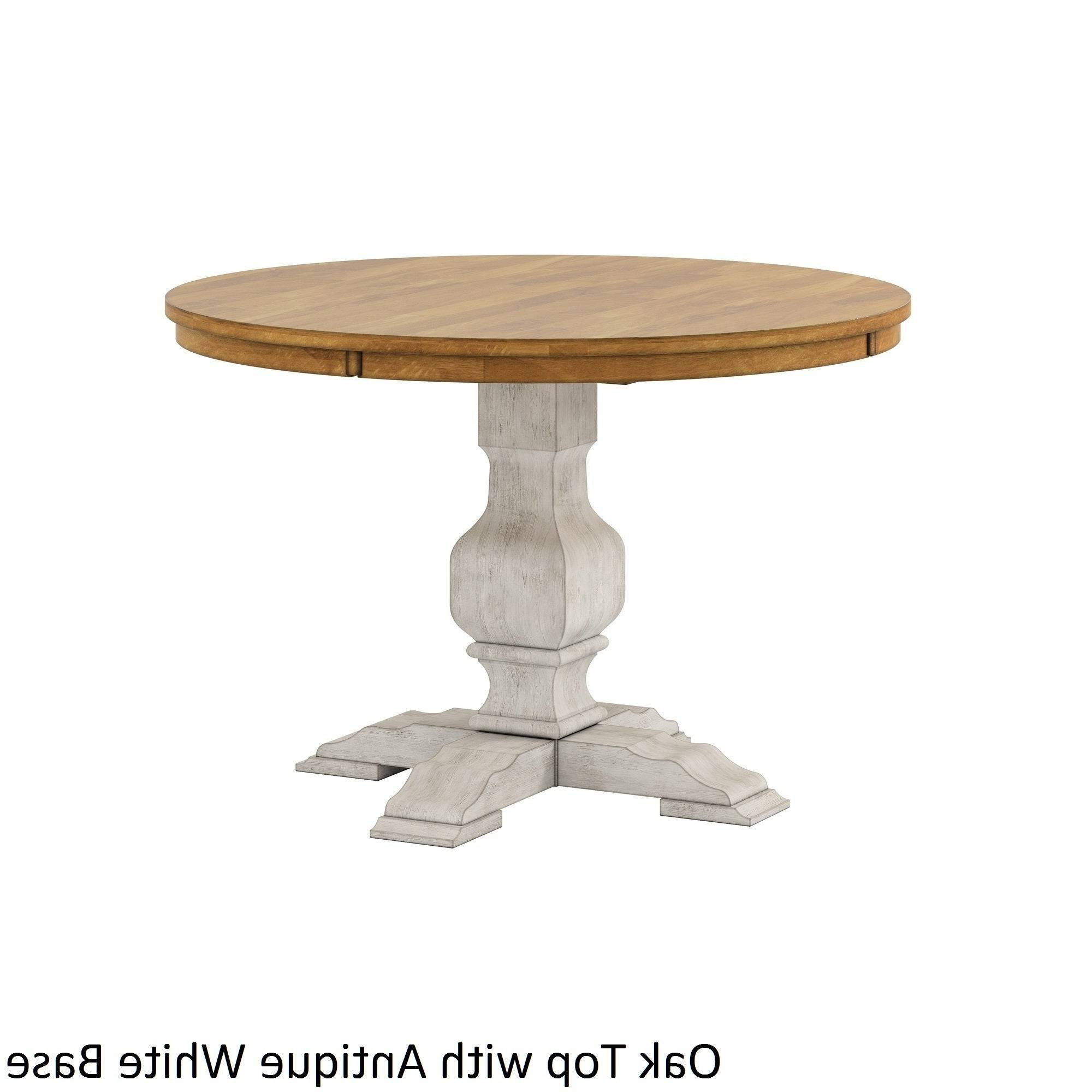 Solid Wood Circular Dining Tables White Within Best And Newest Likable Round Dining Table Wood Top Splendid Furniture Room (View 20 of 30)
