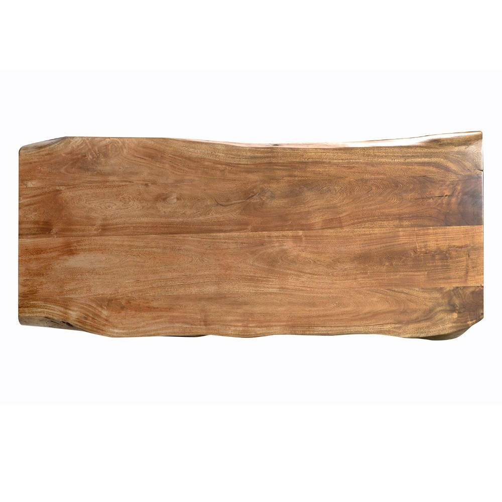 South America Natural Shape Acacia Walnut Solid Live Edge Dining Tables Wood Slab Acacia Wood Slab – Buy India Supplier Natural Raw Slab Table Top In Popular Acacia Top Dining Tables With Metal Legs (View 14 of 30)
