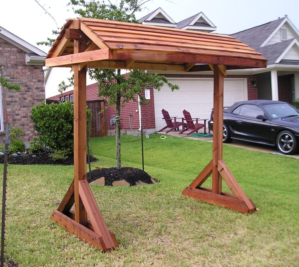Standing Porch Swing Diy Jbeedesigns Outdoor Teamnsinfo Bed For Best And Newest Canopy Patio Porch Swing With Stand (View 27 of 30)