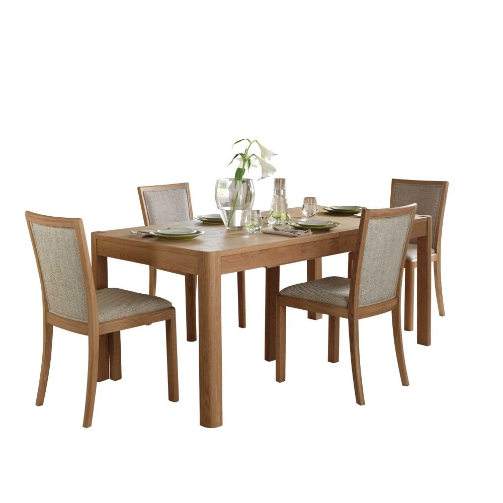 Stockholm Medium Extending Dining Table Intended For Widely Used Medium Dining Tables (View 22 of 30)