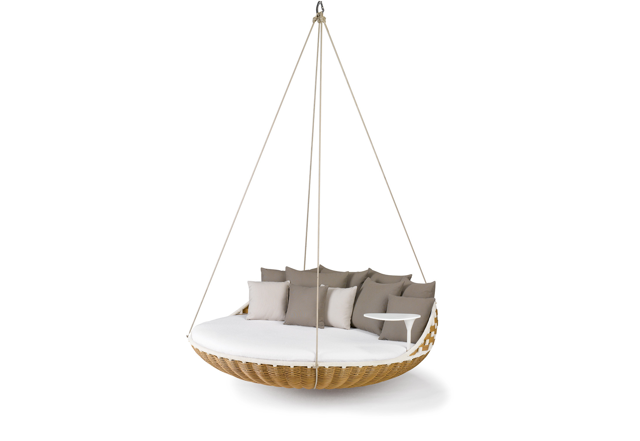 Stylepark Intended For Outdoor Wicker Plastic Half Moon Leaf Shape Porch Swings (View 18 of 30)