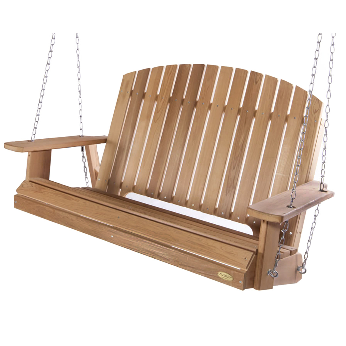 Summer Cedar: Western Red Cedar, Cedar Benches And Swings Inside Preferred 5 Ft Cedar Swings With Springs (View 24 of 30)