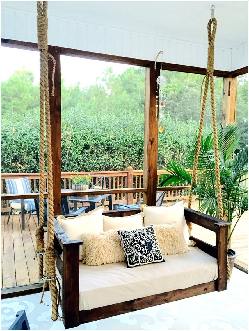 Sway And Enjoy In These Diy Porch Swings In Most Popular Porch Swings (View 27 of 30)