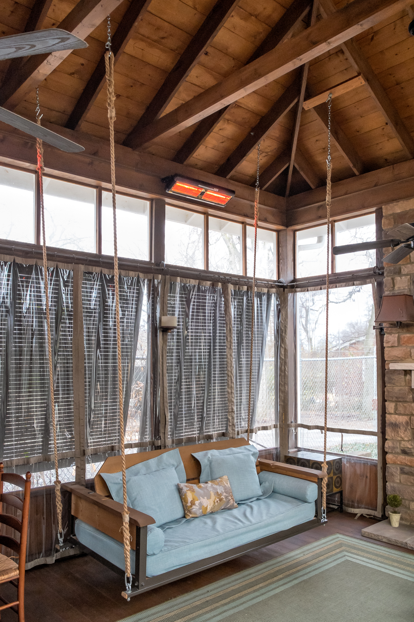 Swing Bed Hanging Rope – The Porch Company In Most Recently Released Hanging Daybed Rope Porch Swings (View 27 of 30)