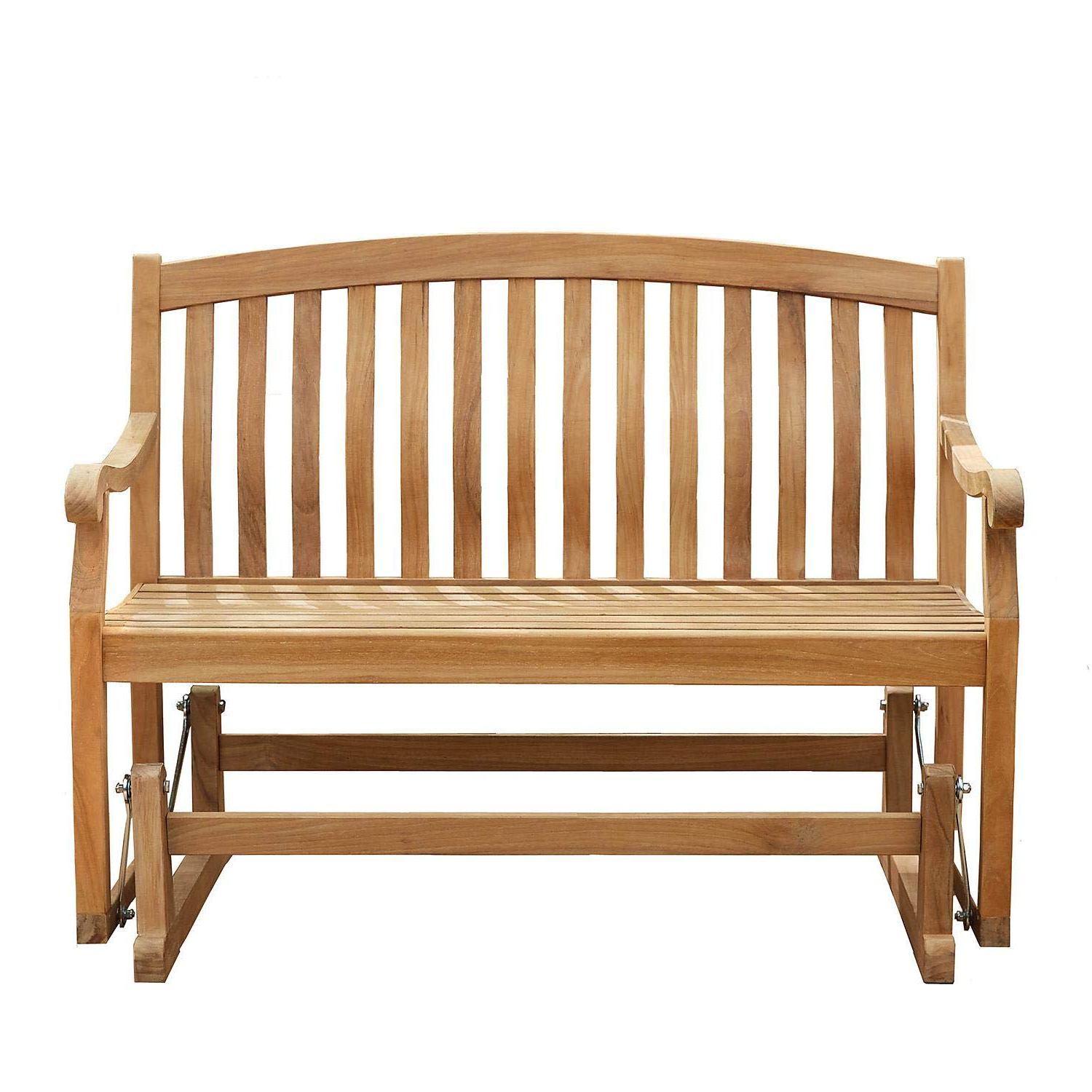Teak Outdoor Glider Benches For Preferred Amazon : Member's Mark 4' Grade A Teak Glider Bench (View 7 of 30)