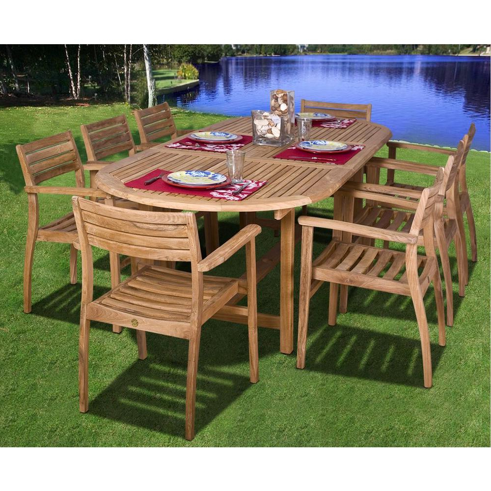 Teak Outdoor Glider Benches Regarding Best And Newest Patio Rectangular Dining Table Teak Ia Coventry Piece Set Sc (View 18 of 30)