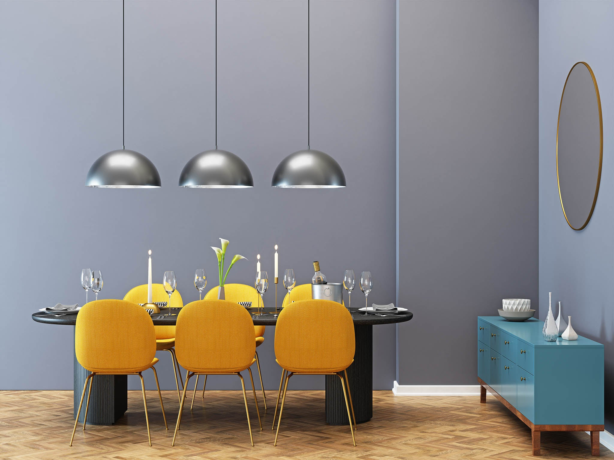 The Independent In Black Top Large Dining Tables With Metal Base Copper Finish (View 28 of 30)