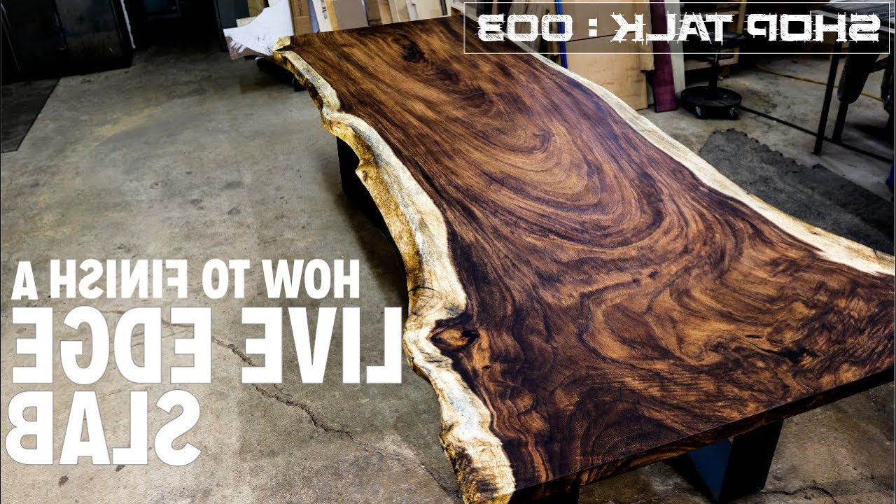Tips & Tricks With Regard To Walnut Finish Live Edge Wood Contemporary Dining Tables (View 18 of 30)