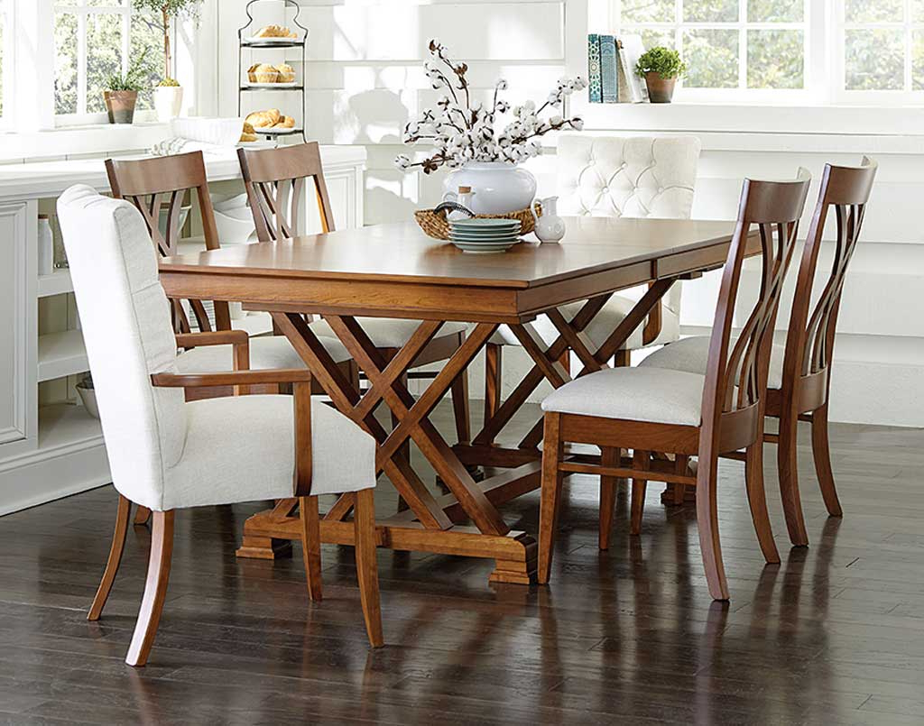 Top Amish Dining Room Sets (tables, Chairs, Furniture, Etc (View 22 of 30)
