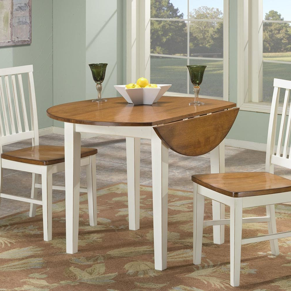 """Transitional 4 Seating Drop Leaf Casual Dining Tables Within Popular Arlington 42"""" Drop Leaf Table – Intercon Furniture (View 30 of 30)"""