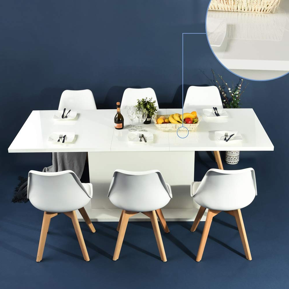 Transitional 4 Seating Square Casual Dining Tables With Regard To Most Popular 5 Best Square Dining Tables For 6 – Costculator (View 29 of 30)