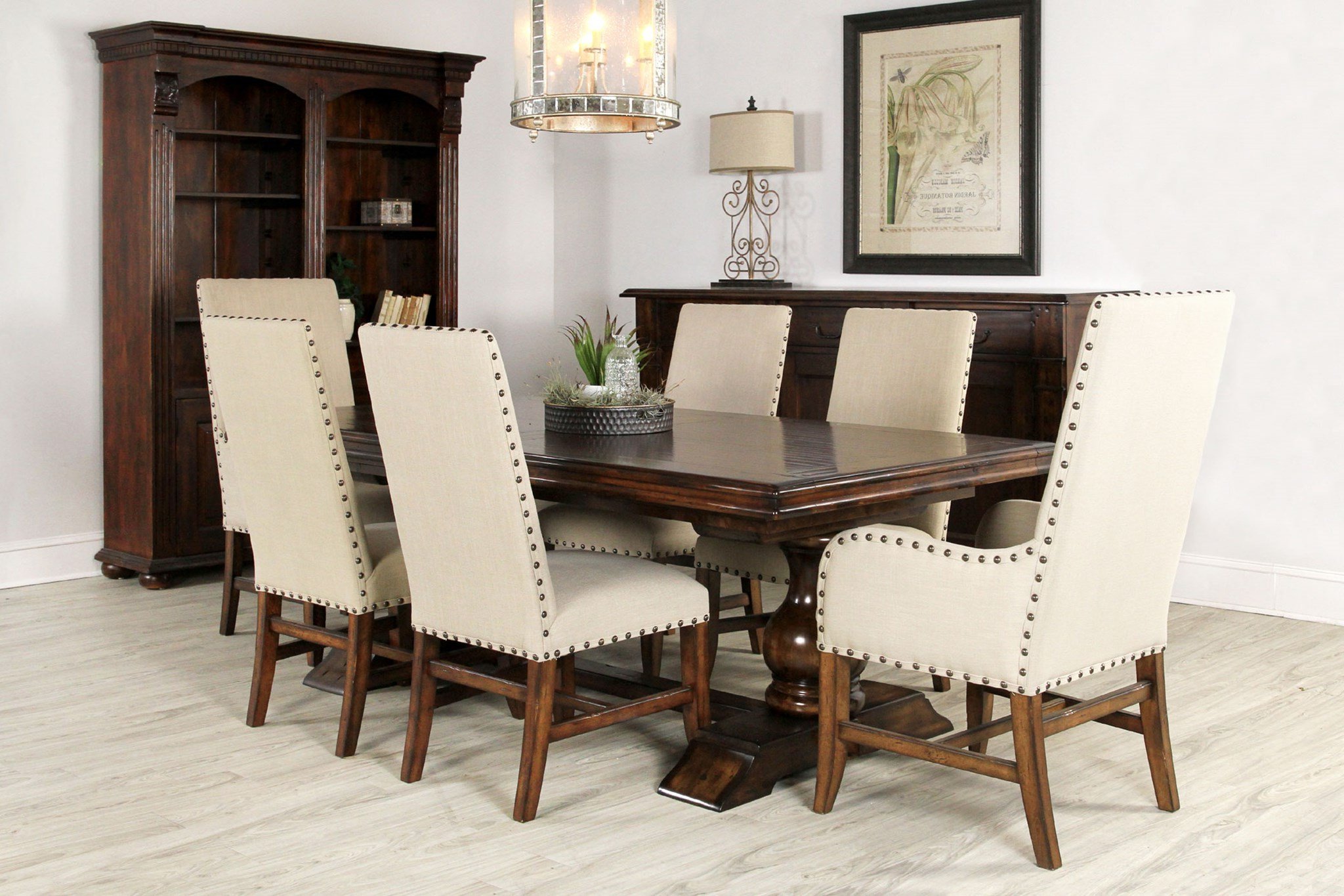 Transitional Driftwood Casual Dining Tables In Current Transitional, Contemporary, Tuscan & Old World Dining Chairs (View 21 of 30)
