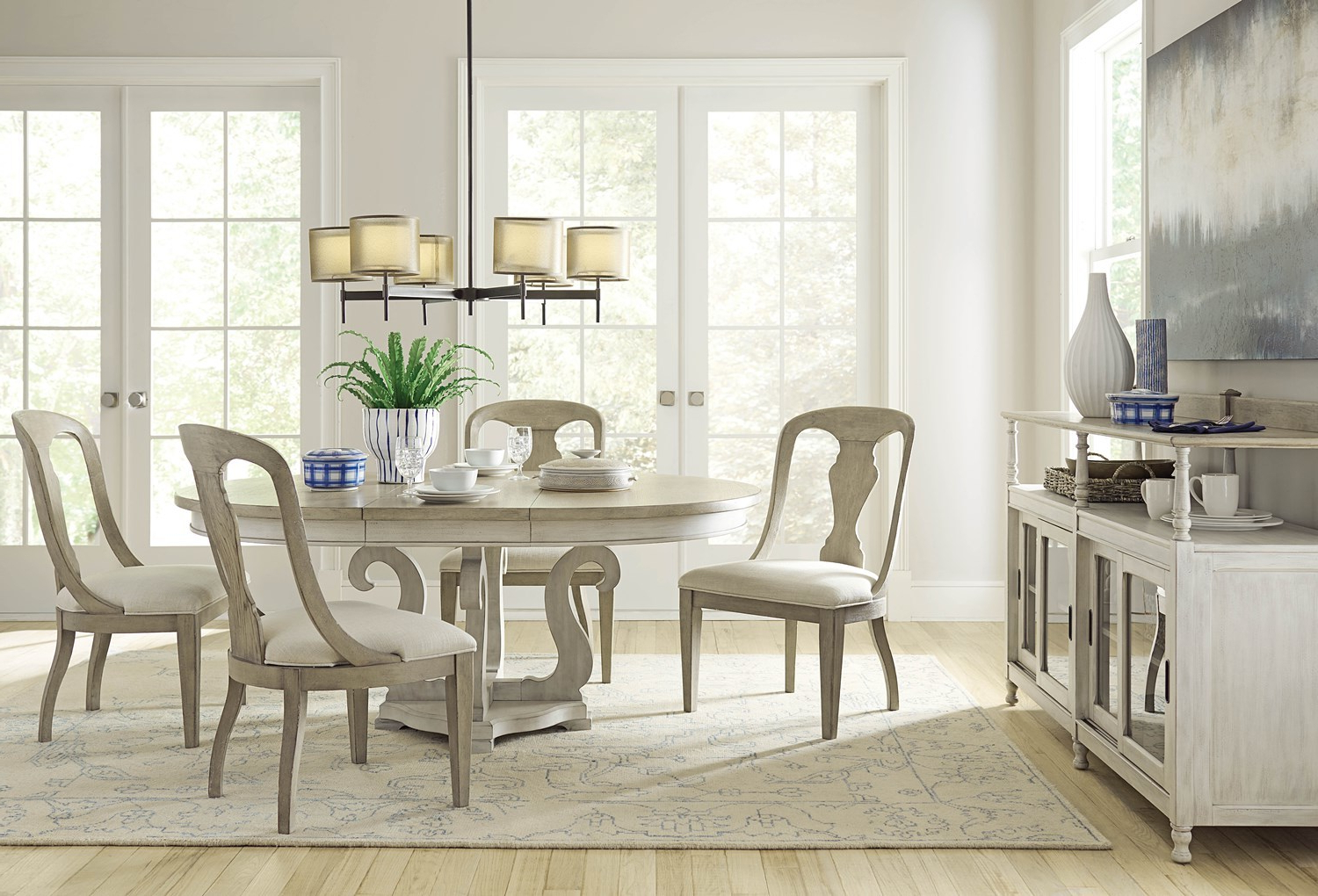 Trendy American Drew Furniture Of North Carolina For Dom Square Dining Tables (View 20 of 30)