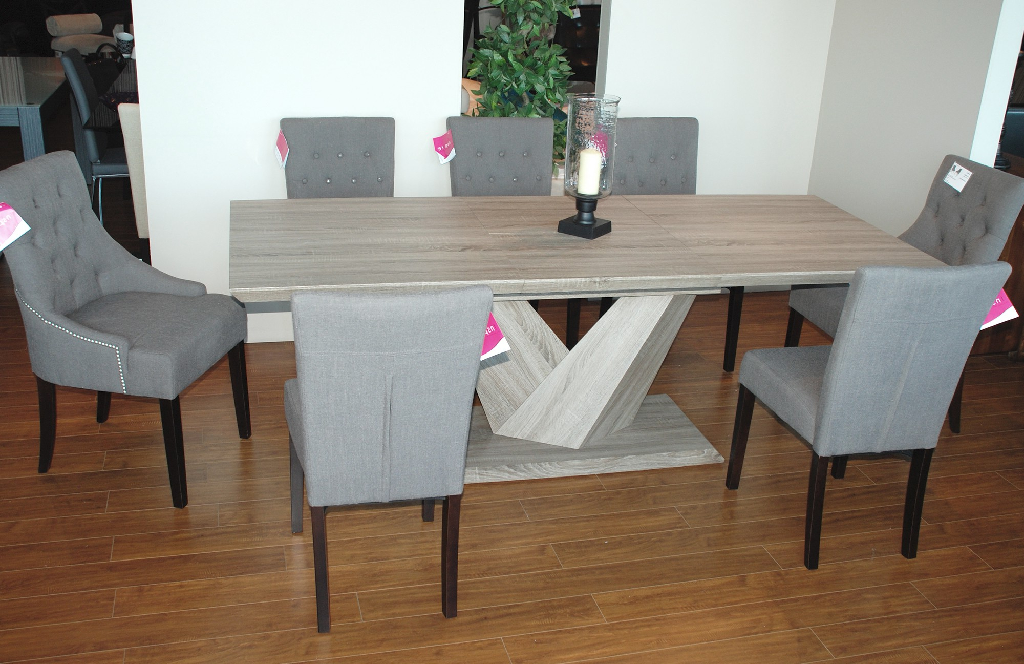 Trendy Eclipse Dining Tables Within Eclipse Rectangular Dining Table In Washed Oak – Dining (View 30 of 30)