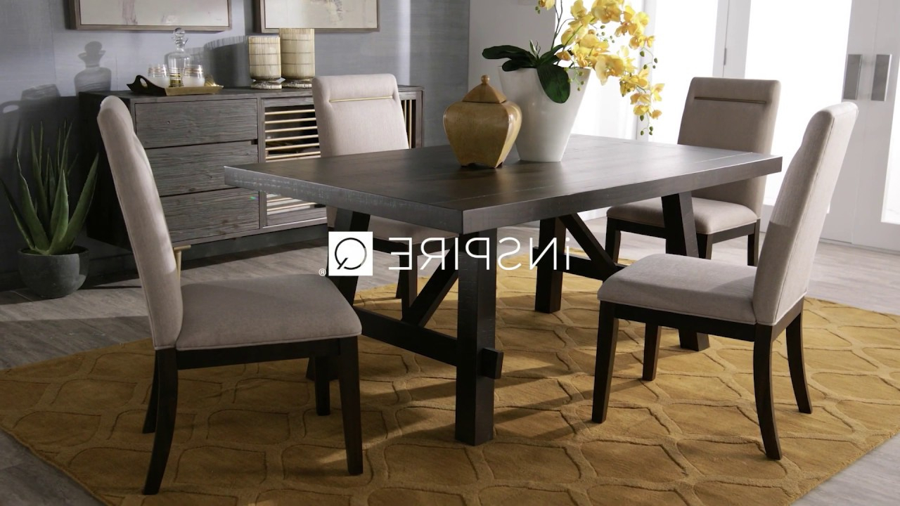 Trendy Espresso Finish Wood Classic Design Dining Tables Regarding Rama Dark Espresso Finish Dining Setinspire Q Classic (View 26 of 30)