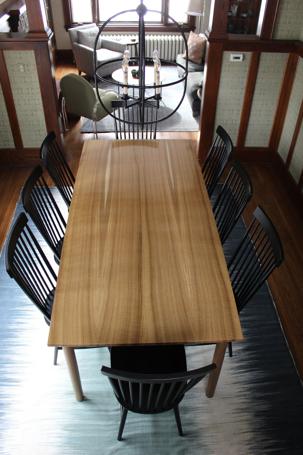 Trendy Fumed Oak Dining Tables Pertaining To Fumed White Oak Dining Table — Woodzest (View 26 of 30)