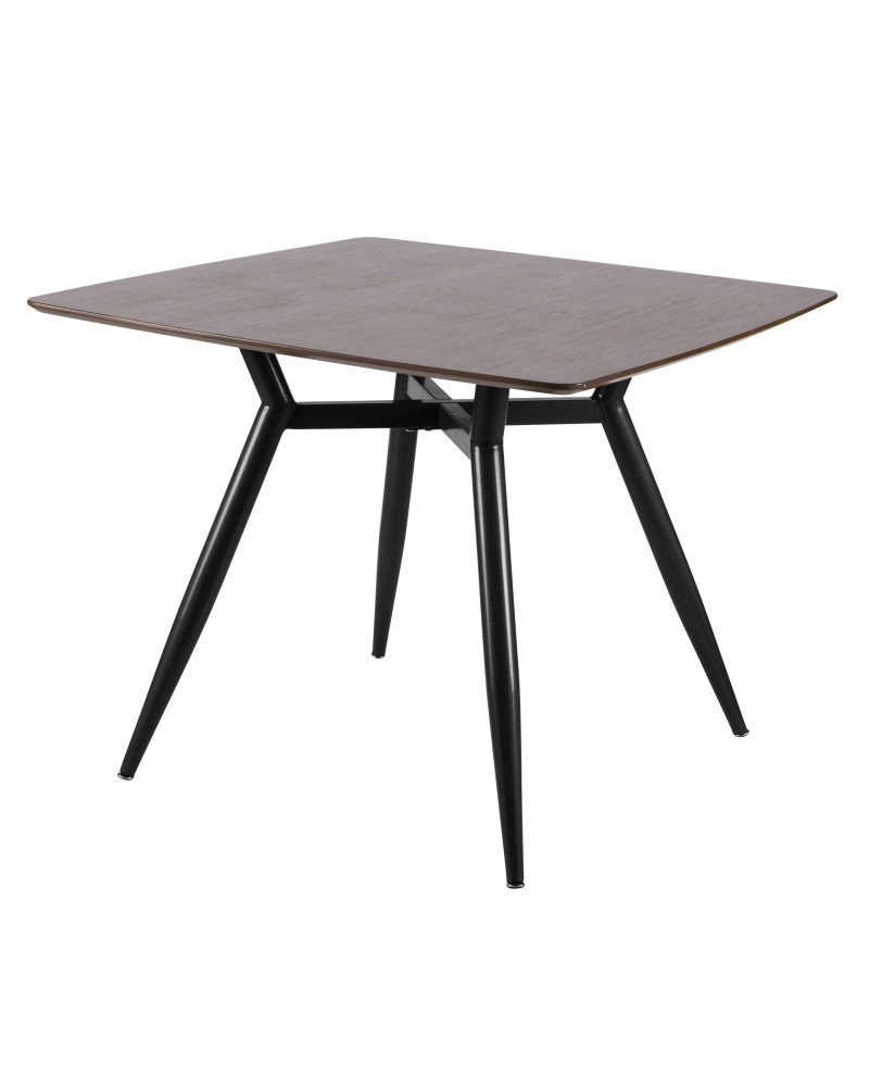 Trendy Mid Century Rectangular Top Dining Tables With Wood Legs Pertaining To Clara Dining Table – Clara Mid Century Modern Square Dining (View 11 of 30)