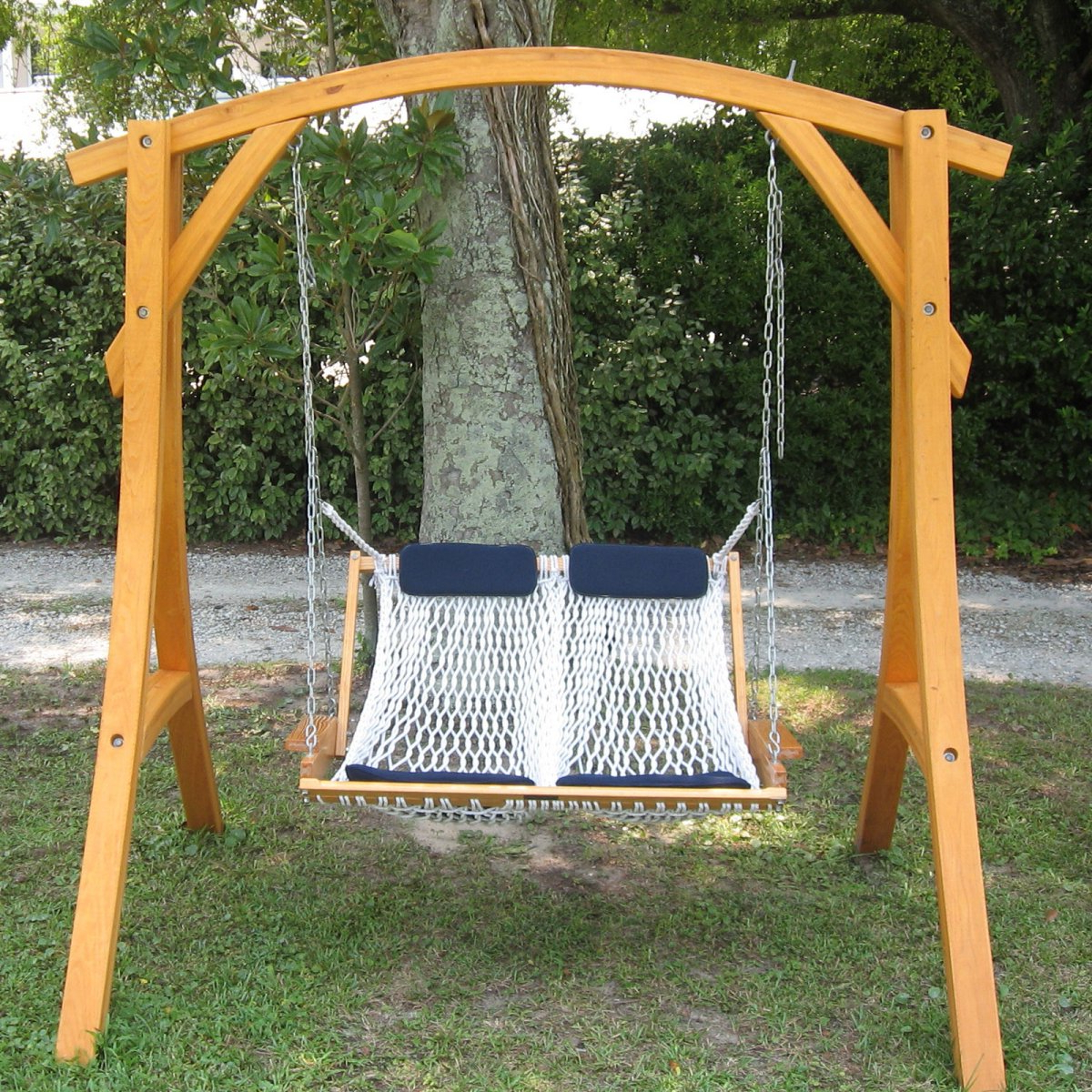 Trendy Outdoor Canopy Hammock Porch Swings With Stand Inside Porch Hammock Swing Ideas (Gallery 29 of 30)