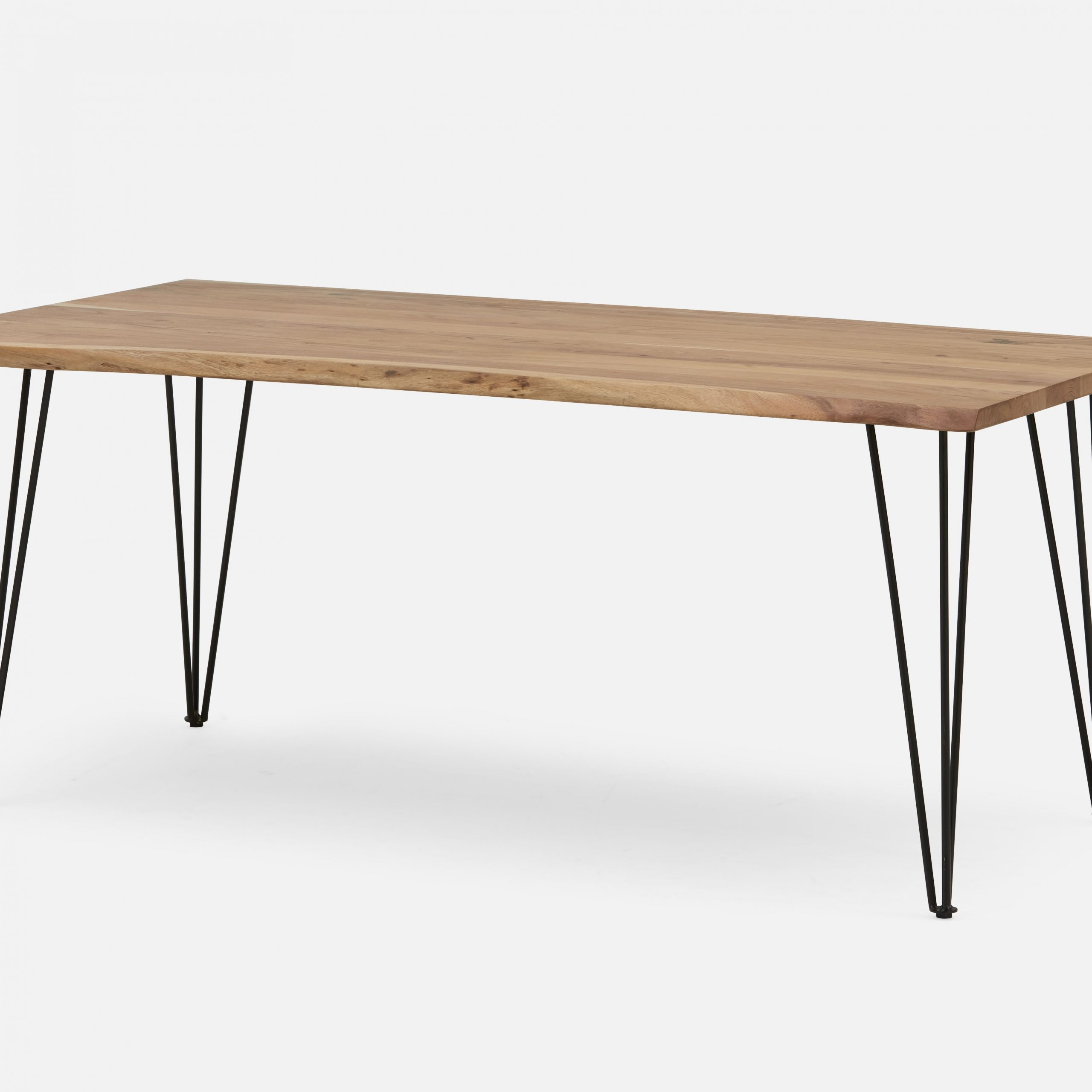 Trendy Solid Acacia Wood Dining Tables In Reno Solid Acacia Wood Dining Table 180Cm (71'') (Gallery 2 of 30)