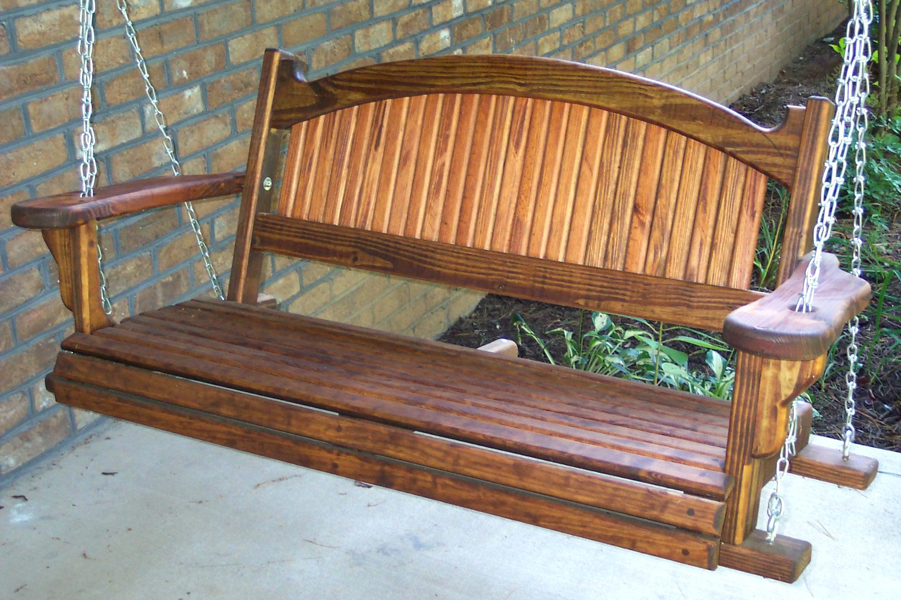 Trendy Standing Porch Swing Diy Frame Plans Pallet Bed Home Within Daybed Porch Swings With Stand (View 14 of 30)