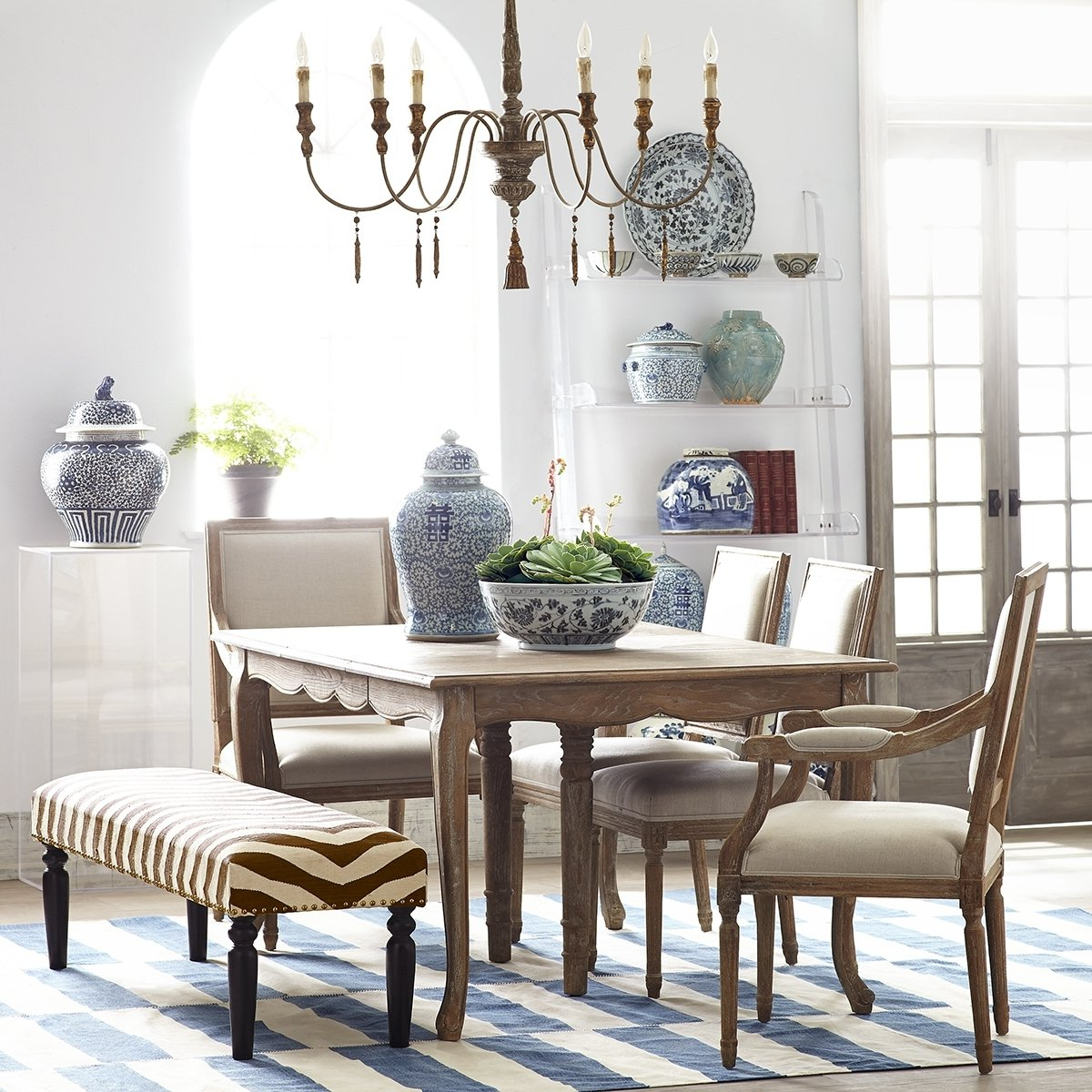 Trendy Walnut And Antique White Finish Contemporary Country Dining Tables With Regard To 50+ French Country Dining Table You'll Love In 2020 – Visual (View 6 of 30)