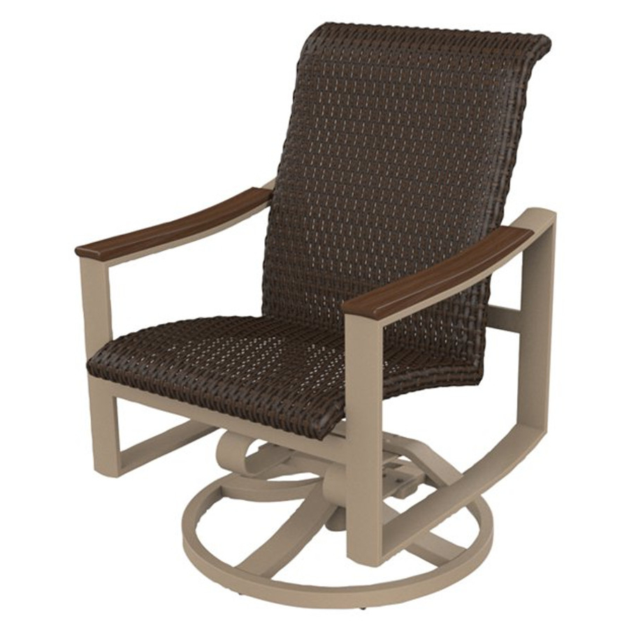 Tropitone – Viking Casual Furniture Within Recent Woven High Back Swivel Chairs (View 11 of 30)