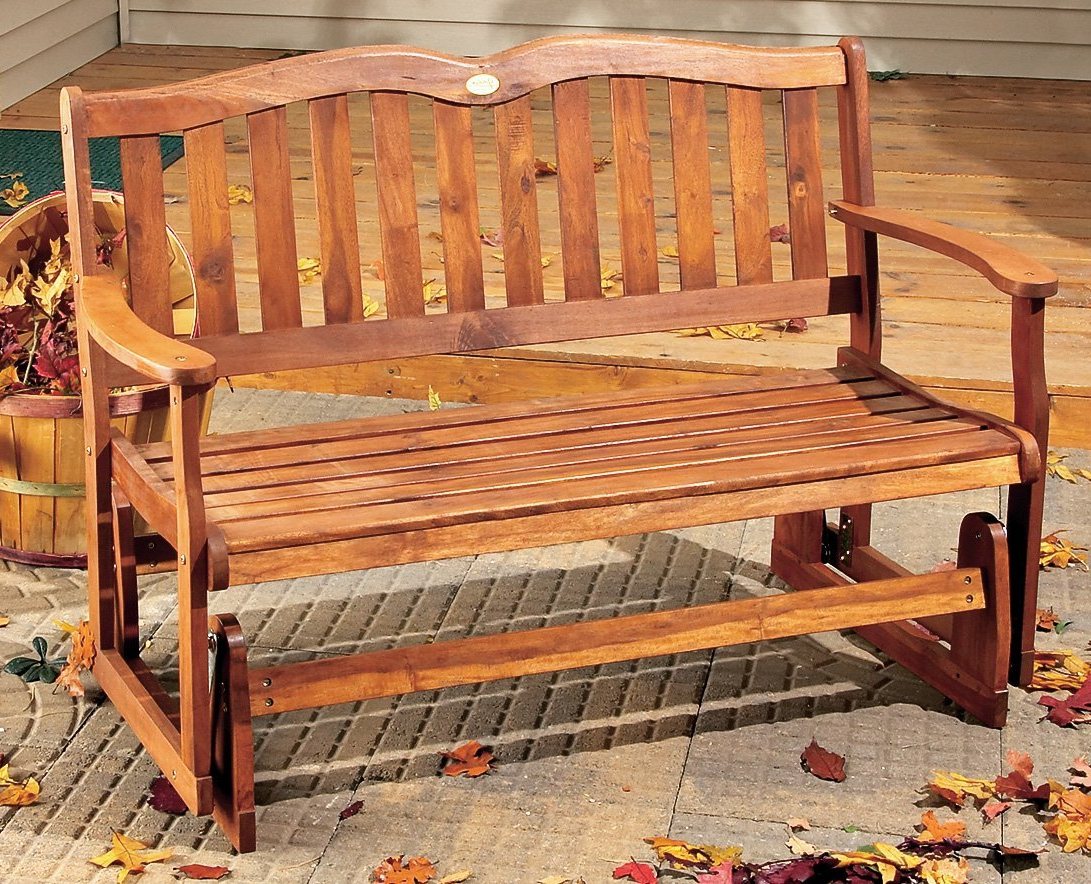 Twin Seat Glider Benches In Latest Furniture: Better Homes And Gardens With Outdoor Glider (View 27 of 31)