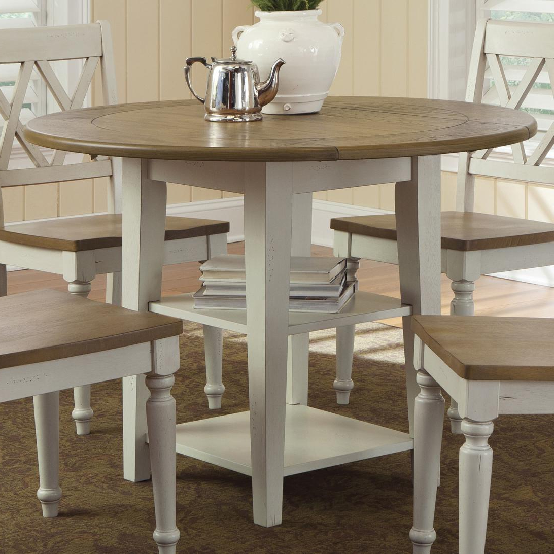 Unfinished Drop Leaf Casual Dining Tables Within Popular Wood Kitchen Round Drop Leaf Table – Ellie Drop Leaf Dining (View 28 of 30)