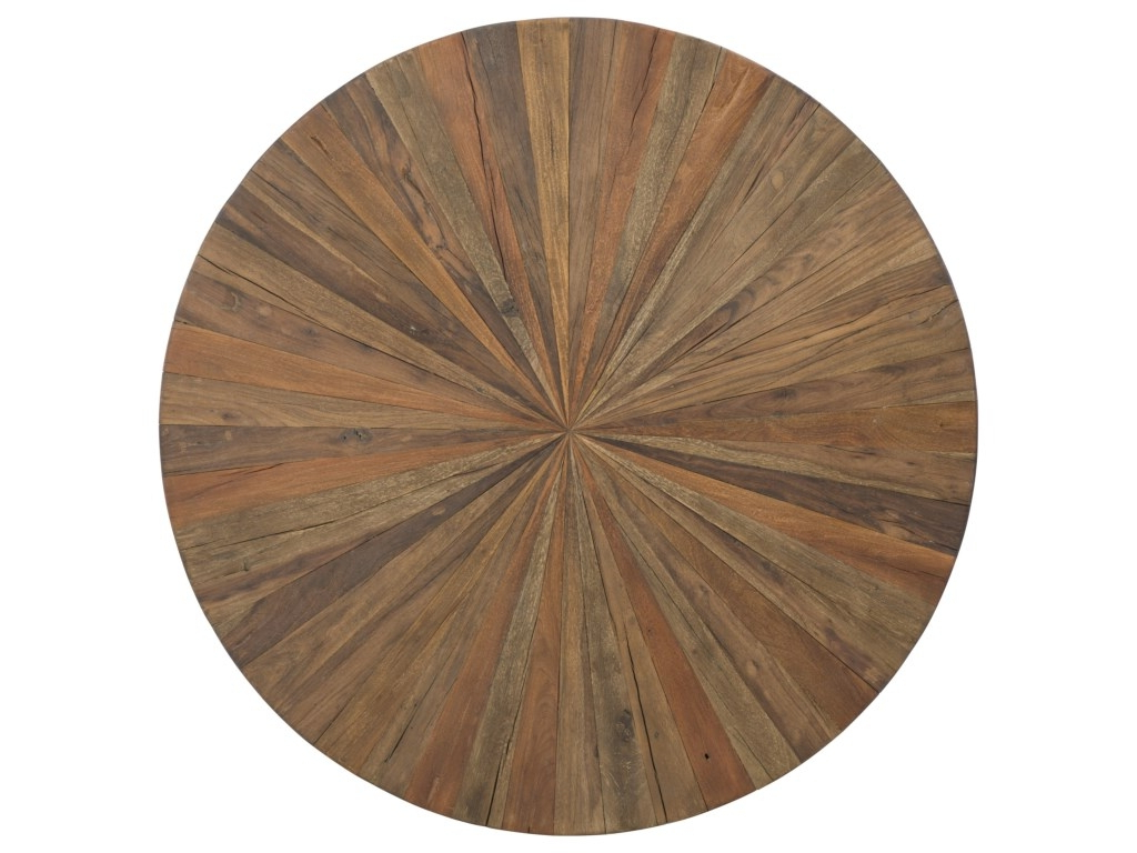 Usine Round Dining Table Reclaimed Wood Top Hamilton Home Regarding Most Up To Date Small Round Dining Tables With Reclaimed Wood (Gallery 9 of 30)