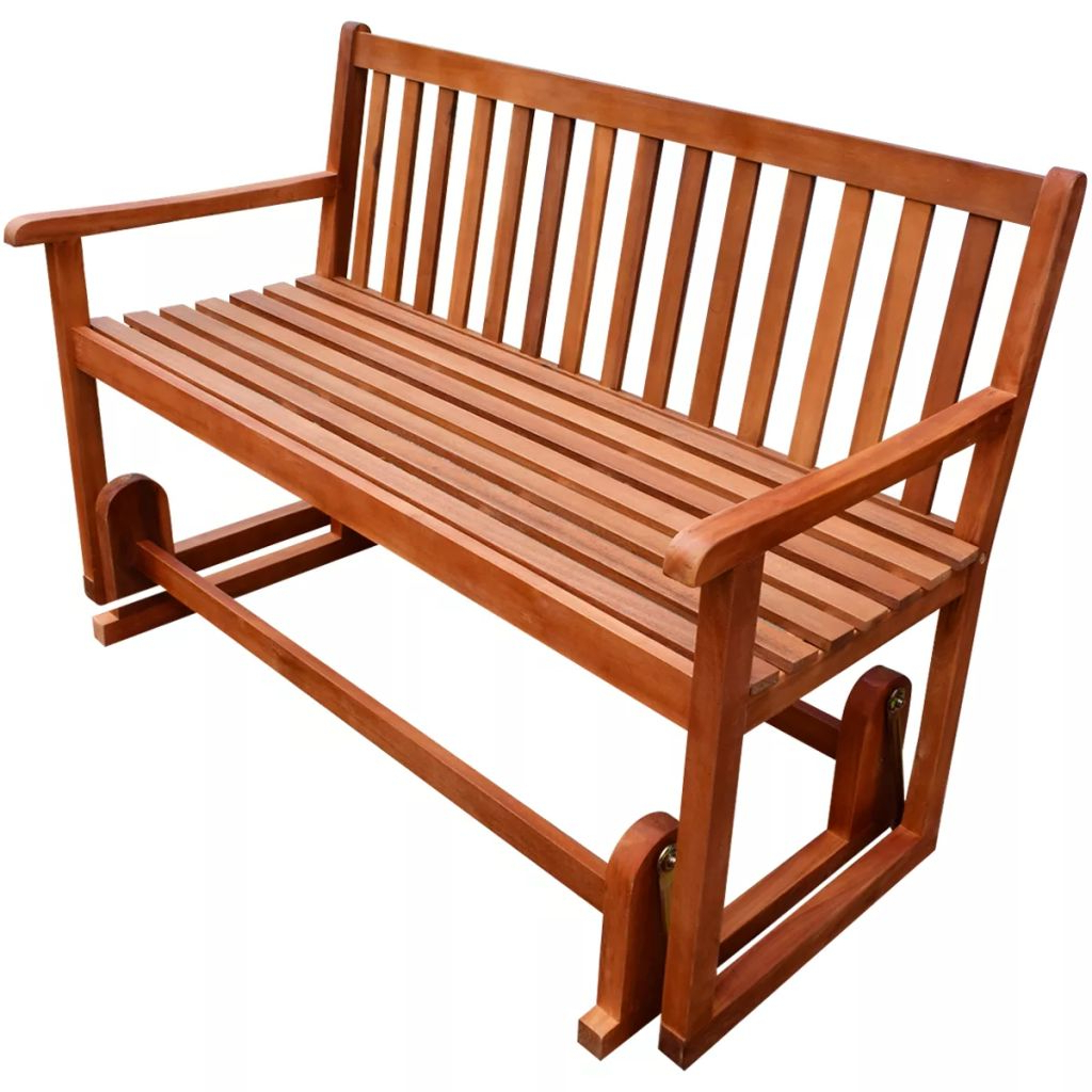 Vidaxl Within Hardwood Porch Glider Benches (View 18 of 30)
