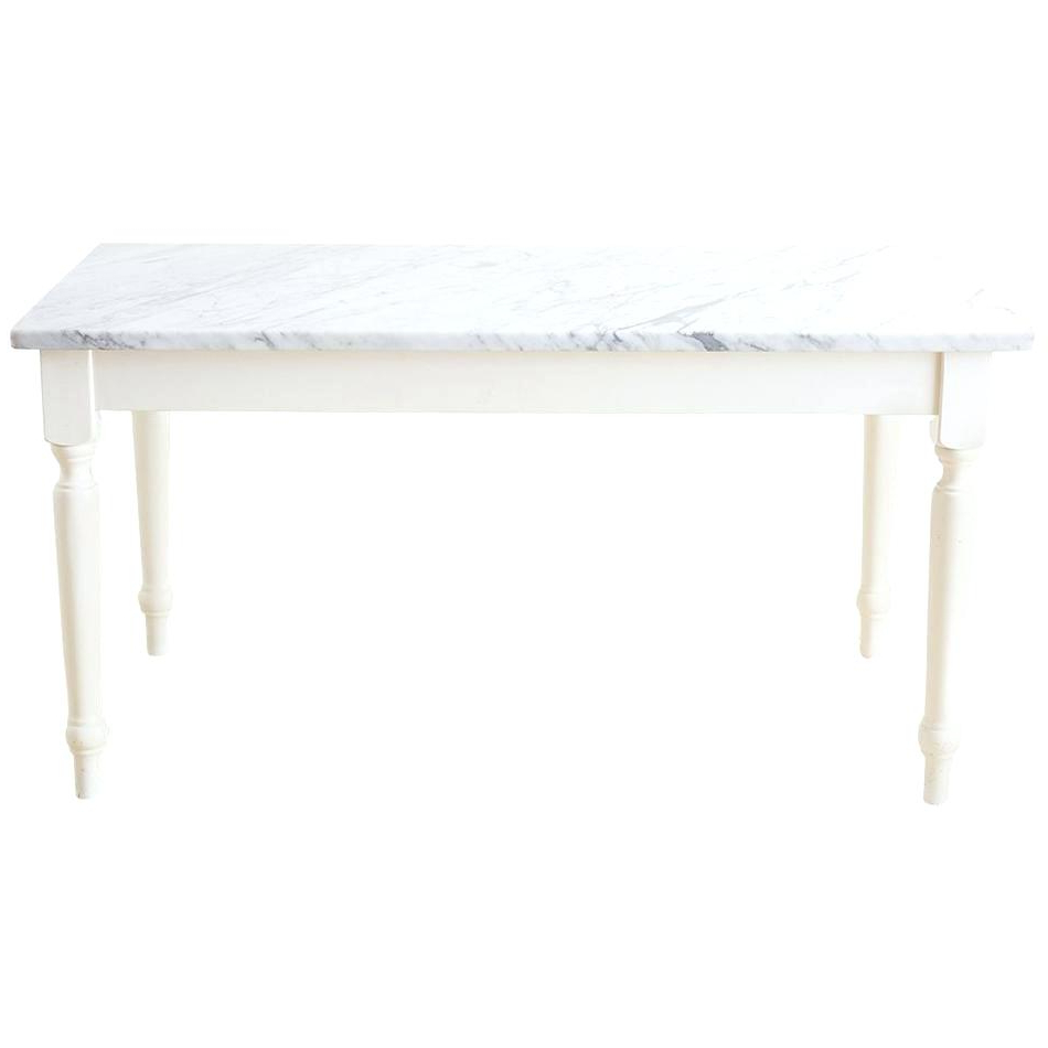 Walnut And Antique White Finish Contemporary Country Dining Tables Regarding Trendy White Farm Dining Table – Stichling (View 30 of 30)