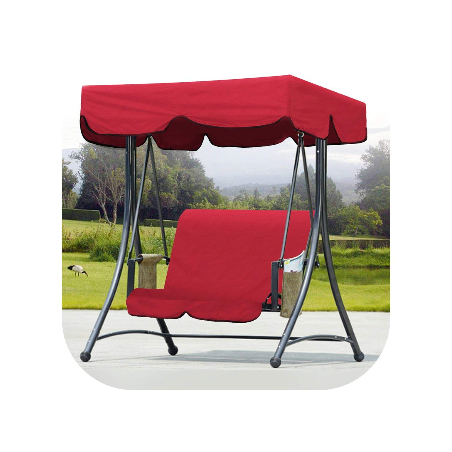 Water Resistant Cozy Patio Waterproof Hammock Glider Cover Intended For Famous Patio Gazebo Porch Canopy Swings (Gallery 18 of 30)