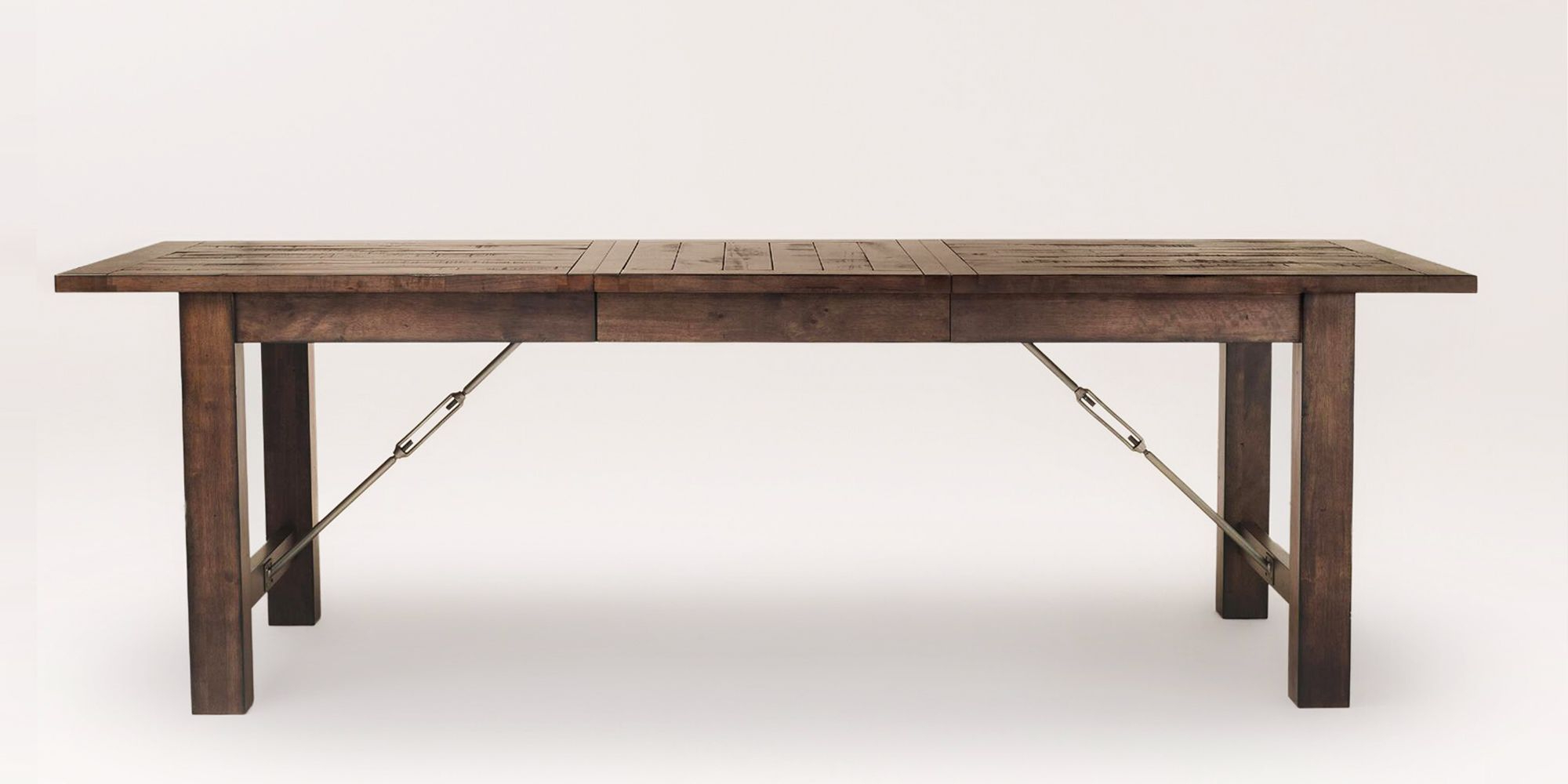Well Known 10 Best Rustic Dining Tables In 2018 – Wood Dining Room Intended For Acacia Wood Top Dining Tables With Iron Legs On Raw Metal (View 19 of 30)