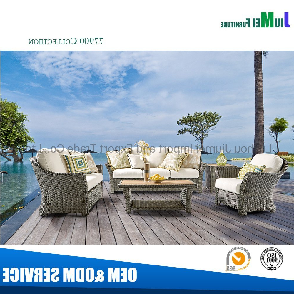 Well Known Aluminum Outdoor Double Glider Benches With China Latest Design Outdoor Furniture Rattan Garden Swivel Glider Recliner  Sofa For Warren Buffett (View 27 of 30)